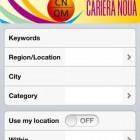 Portal de joburi optimizat pentru mobile