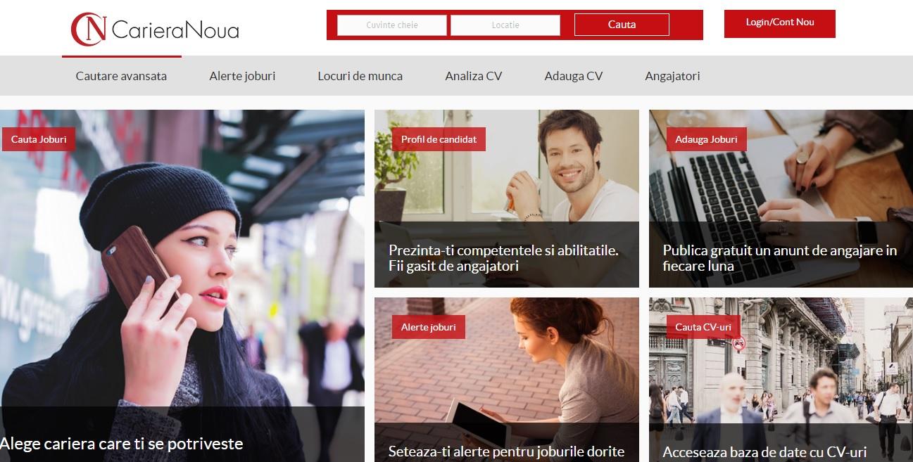 recrutare online Romania